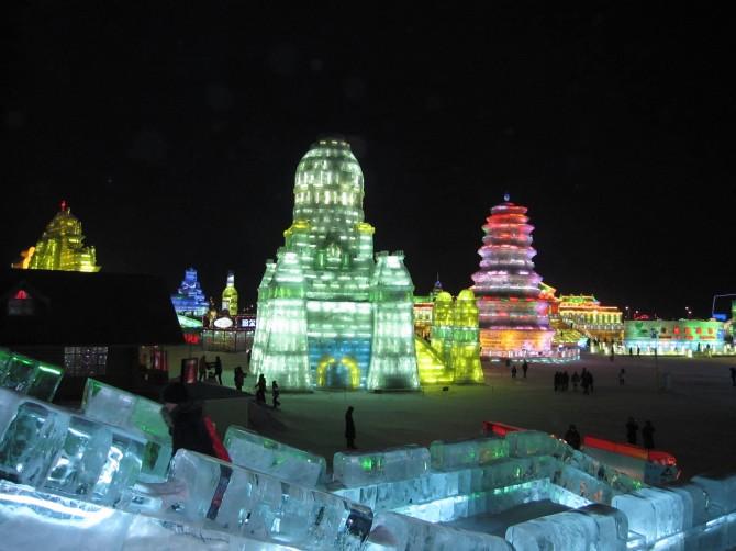 Harbin International Ice and Snow Sculpture Festival - China 1
