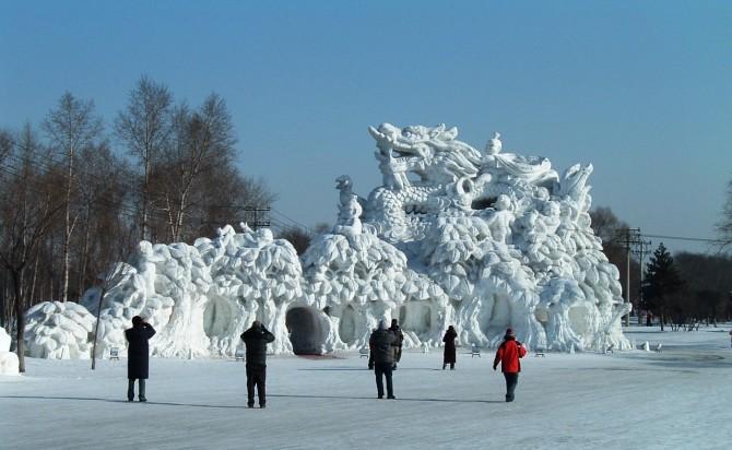 Harbin International Ice and Snow Sculpture Festival - China 23