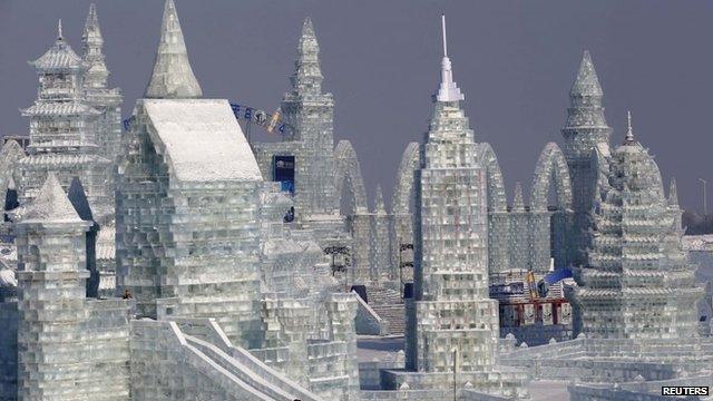 Harbin International Ice and Snow Sculpture Festival - China 26