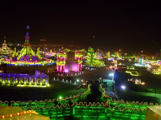 Harbin International Ice and Snow Sculpture Festival - China 4