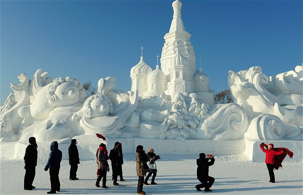 Harbin International Ice and Snow Sculpture Festival - China 7