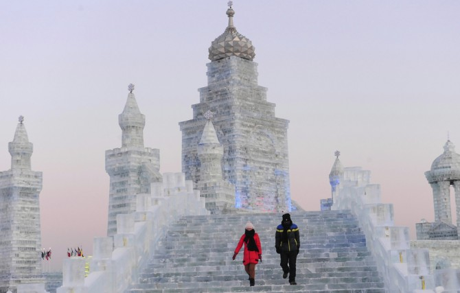 Harbin International Ice and Snow Sculpture Festival - China 8