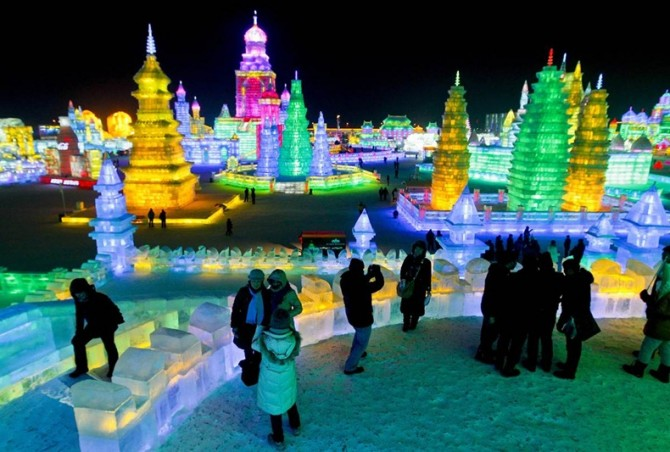 Harbin International Ice and Snow Sculpture Festival - China 9