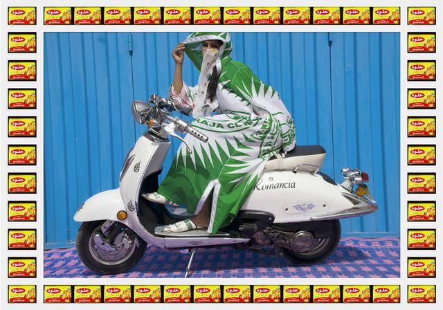 Hassan Hajjaj Kesh ANgels Morocco Girl Bikers - Romancia