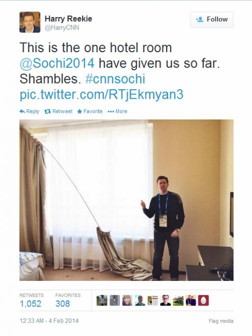 Journalist Live Tweet - Sochi - CNN