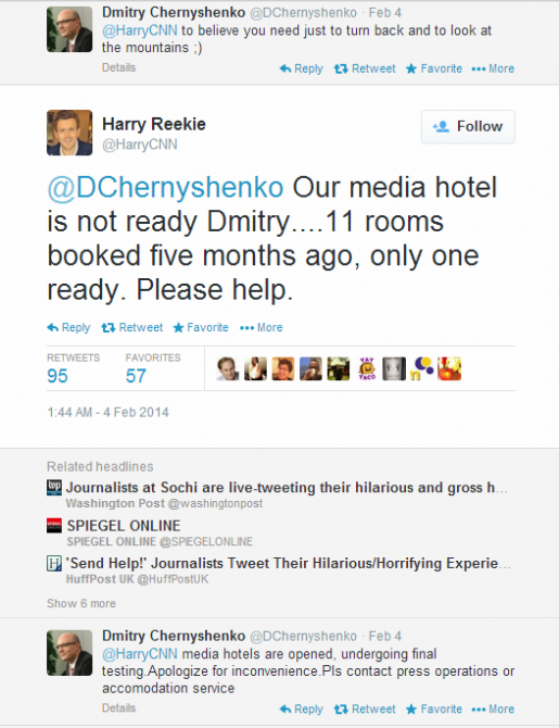 Journalist Live Tweet - Sochi - CNN reekie sochi