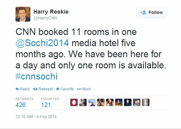 Journalist Live Tweet - Sochi - CNN reekie