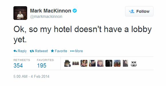 Journalist Live Tweet - Sochi - Mackinnon