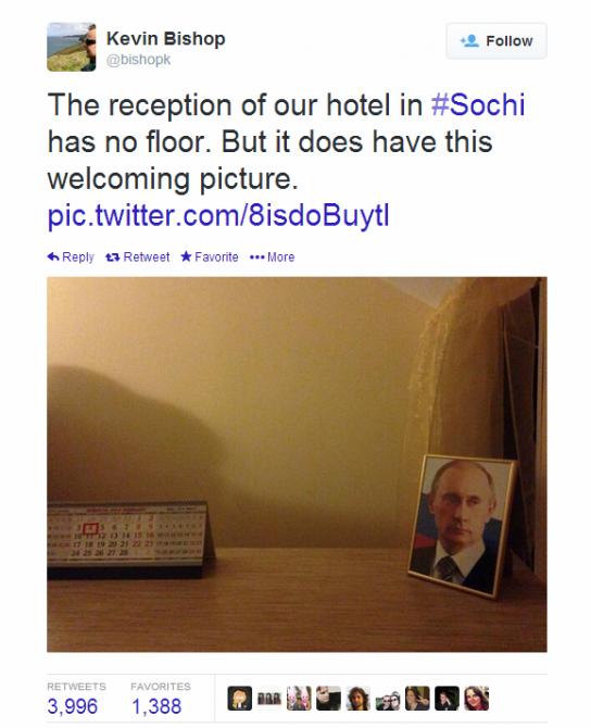 Journalist Live Tweet - Sochi - bishopk