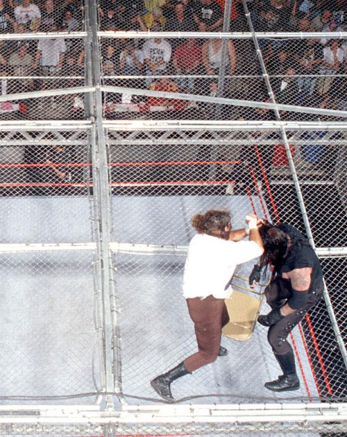 Mankind UNdertaker Hell IN A Cell 6