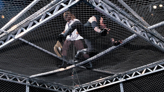 Mankind UNdertaker Hell In A Cell 11