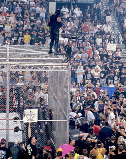 Mankind UNdertaker Hell In A Cell 13