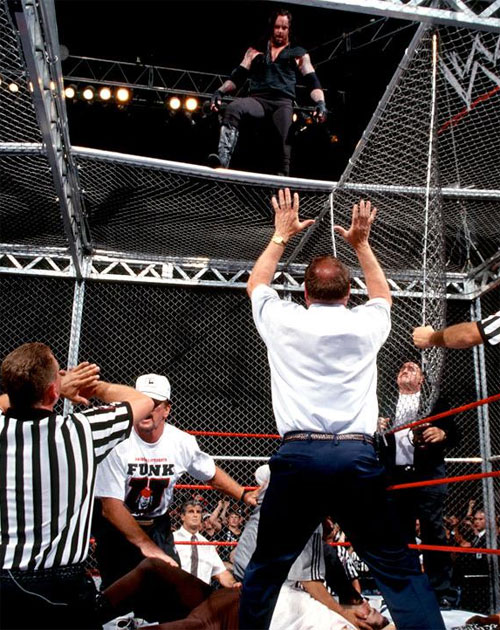 Mankind UNdertaker Hell In A Cell 9