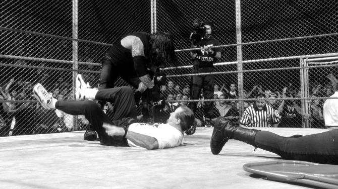 Mankind Undertaker Hell IN A Cell 2