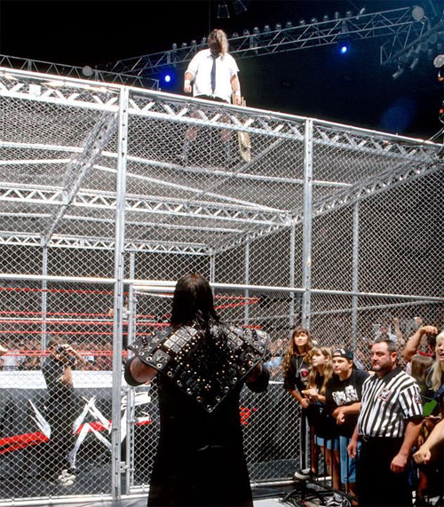 Mankind Undertaker Hell In A Cell 1