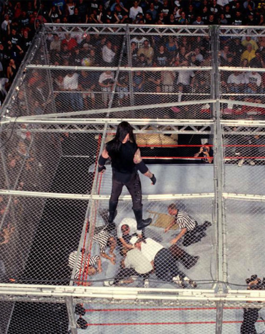 Mankind Undertaker Hell In A Cell 10