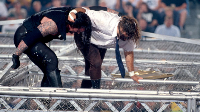 Mankind Undertaker Hell In A Cell 12