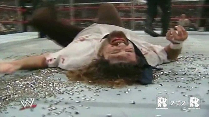 Mankind Undertaker Hell In A Cell 16