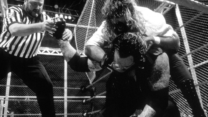 Mankind Undertaker Hell In A Cell 18