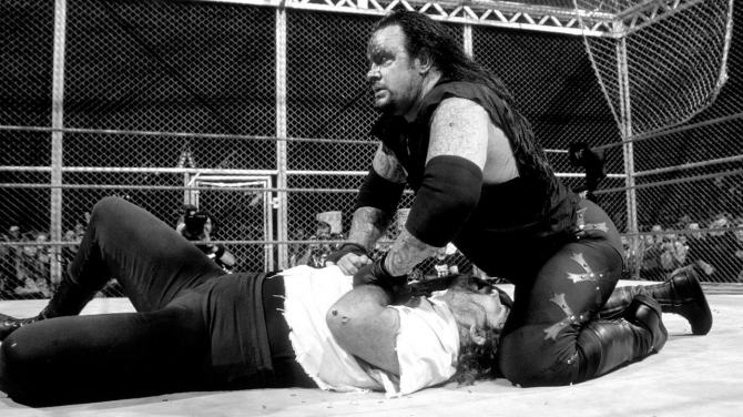 Mankind Undertaker Hell In A Cell 3