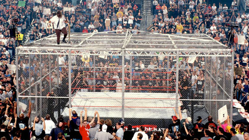 Mankind Undertaker Hell In A Cell 4