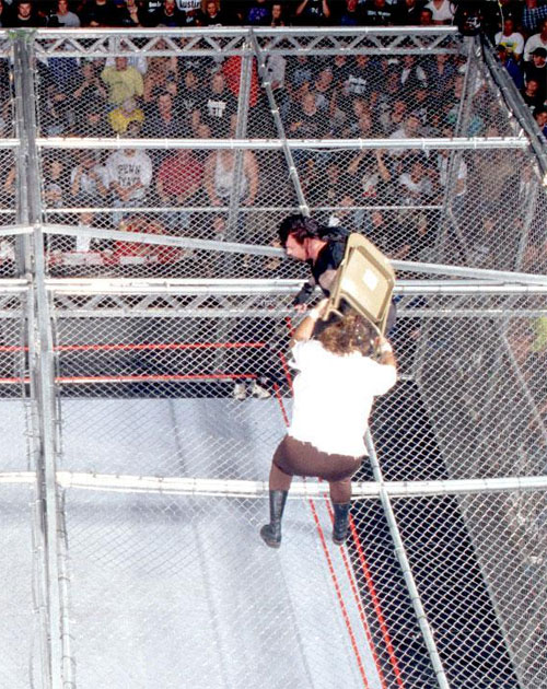 Mankind Undertaker Hell In A Cell 5