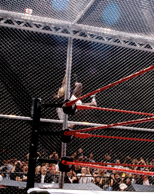 Mankind Undertaker Hell In A Cell 7