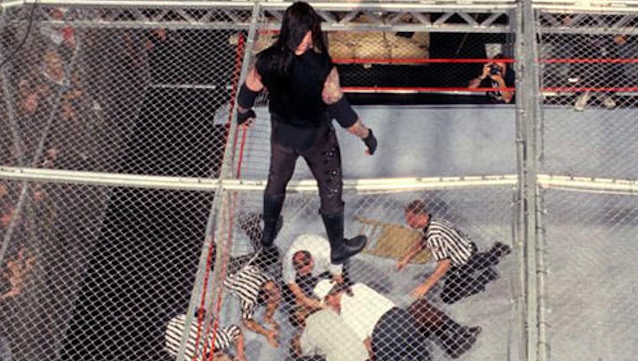 Mankind Undertaker Hell In A Cell Featured