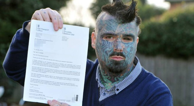 Most Tattooed Man In Britain