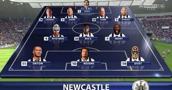 Newcastle United Starting XI