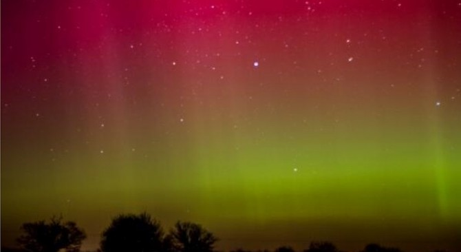 Northern Lights - Aurora Borealis - Norfolk