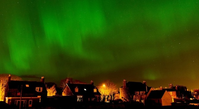 Northern Lights - Aurora Borealis - Wick Caithness