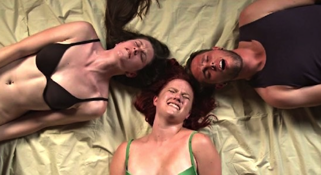 Erotic nude female massage