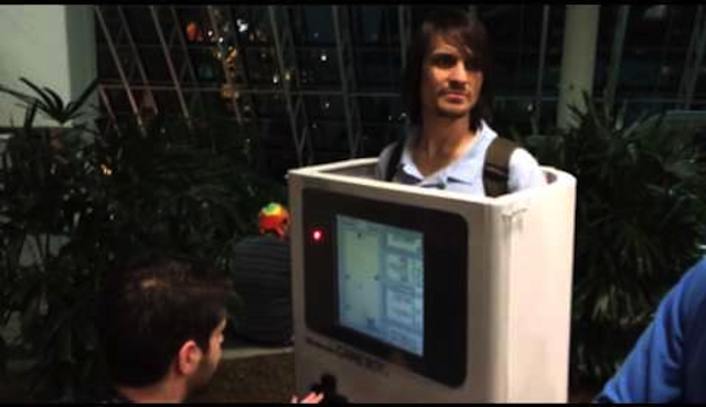 Playable Game Boy Costume