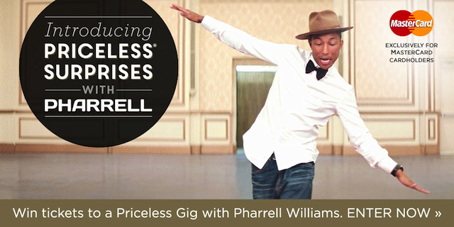 Priceless Surprises Pharell