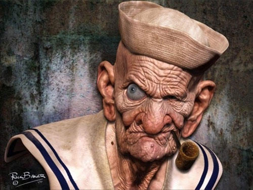 Real Drawings Animated Characters