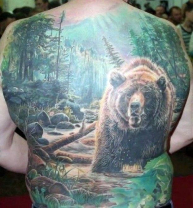 Russia With Love - Tattoo bear
