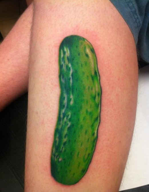 Russia With Love - Tattoo pickle