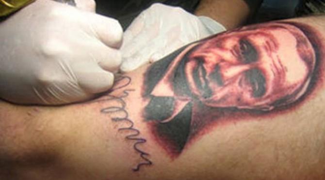 Russia With Love - Tattoo putin 2