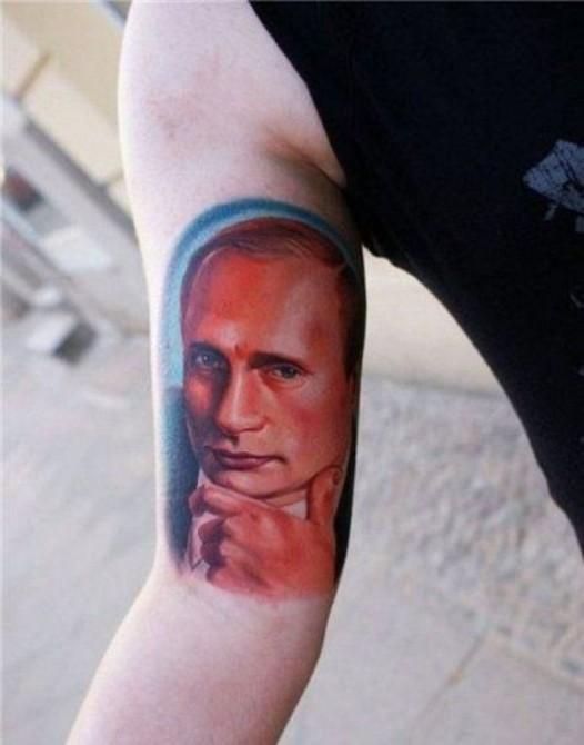 Russia With Love - Tattoo putin