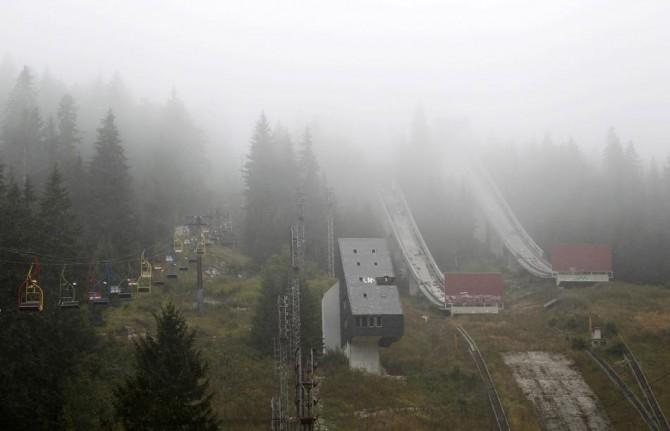 Sarajevo Winter Olympics - Abandoned - Ski Jump