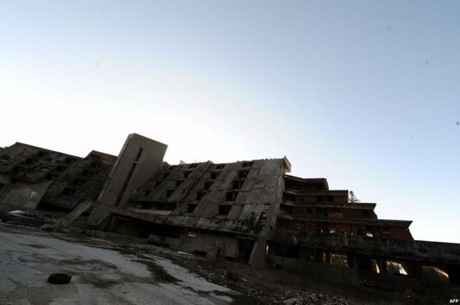 Sarajevo Winter Olympics - Abandoned - hotel