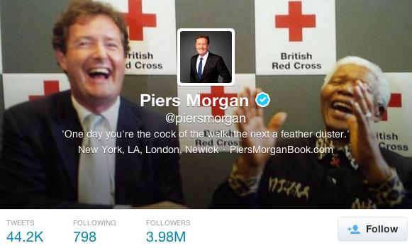 Piers Morgan Twitter