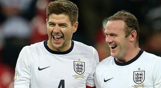 Steven Gerrard Wayne Rooney