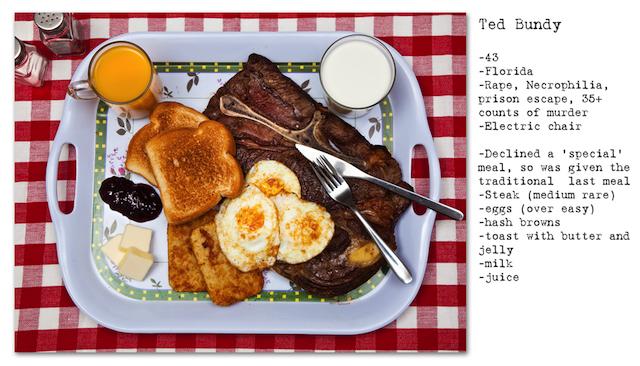 Ted Bundy Final Meal