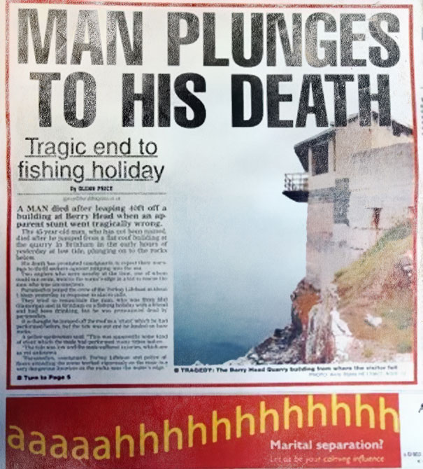 Unfortunate Advertising Placements 26