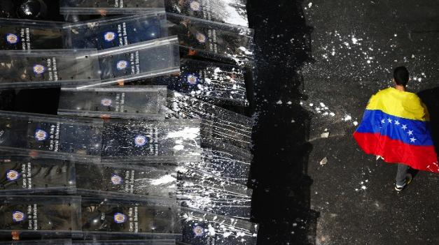 Venezuela Riots Featured