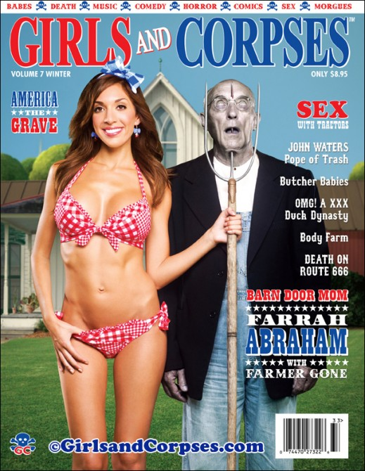 Weird Magazine Titles Covers - Girls & Corpses
