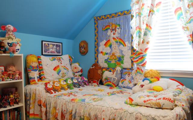 Weird News - Katy Cartee - Rainbow Brite bedroom