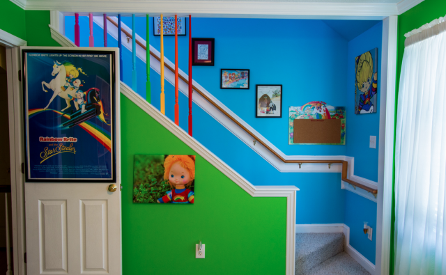Weird News - Katy Cartee - Rainbow Brite entrance